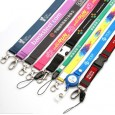 Printing Lanyards with Different Metal Hooks or Retractable Holders