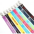 ID Card Holders Lanyards with Customized Heat Transfer Printing Logo