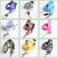 Promotion Printing Polyester Lanyards, Keychain, ID Badge, Assorted Colors