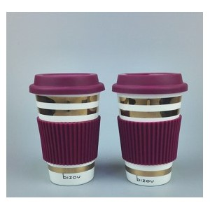 Ceramic Coffe cup with cover